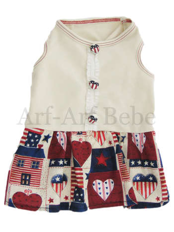 American Patchwork Dress