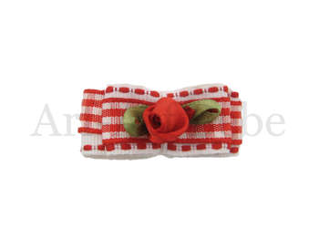 Bebe Barrette - Country Rose