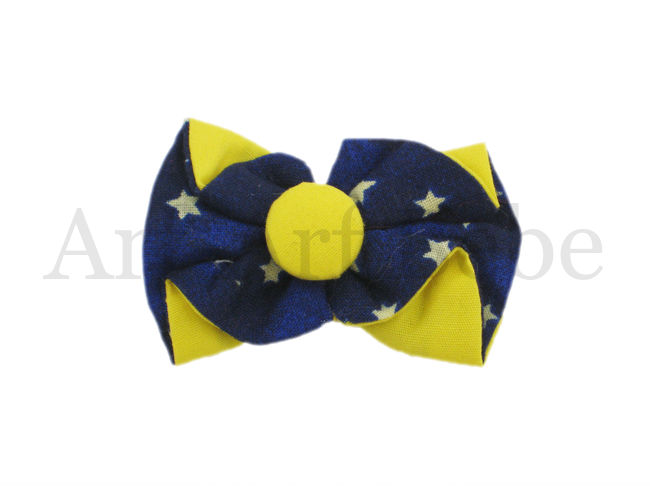 Boutique Barrette - Yellow & Blue