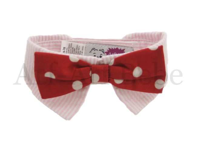 "Red Polka Dot ""Bow-Wow"" Bow"